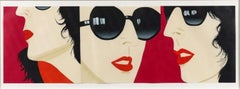 "ALEX KATZ ""Marrisa"" 1983, Wood- and linocut on Okawara Paper Signed and numbered"