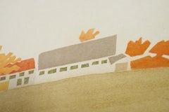 Alex Katz, 'Small Cuts House and Barn' 2008 Print