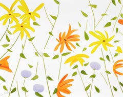 ALEX KATZ: Flowers 2 - Limited edition hand signed and numbered Pop Art