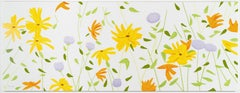 Alex Katz, Summer Flowers, Silkscreen on Canvas, 2018, edition of 35