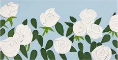 Alex Katz, White Roses