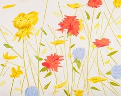 Alex Katz, WildFlowers, Silkscreen on Paper, 2017, edition of 60
