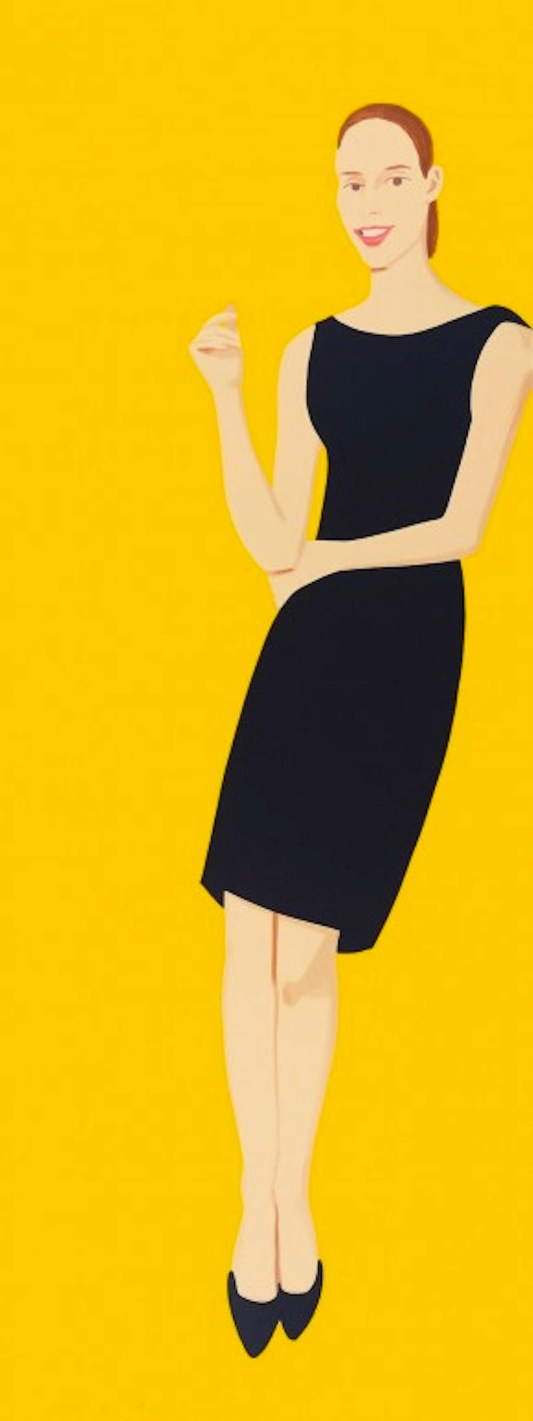 Black Dress Portfolio - Ulla - Print by Alex Katz