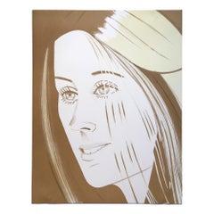 Caroline, 1977, Contemporary Art, 20th Century Pop Art, Nouveau Realisme