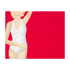 Coca-Cola Girl 4, Screenprint, Pop Artist, Modern Realism, Contemporary Art