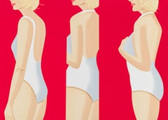 Coca-Cola Girl #5, 2018, Alex Katz, Silkscreen, Ed. 26/60- Figurative, Swimsuits