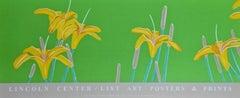 Day Lilies, 1992 Lincoln Center Exhibition Silkscreen Poster