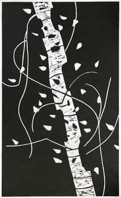 Large Birch, American Pop Art, Modern Realism, Contemporary Art