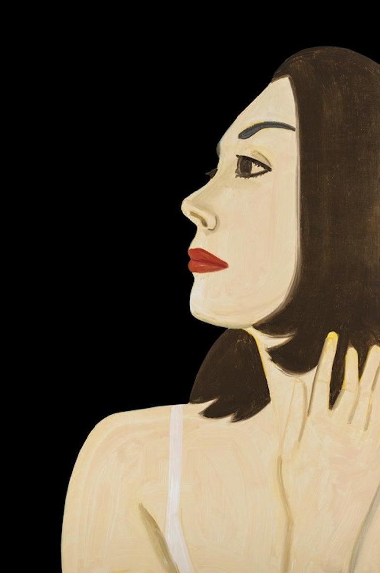 Alex Katz Portrait Print - Laura