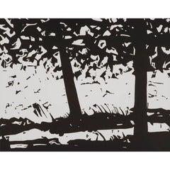 Maine Woods - Contemporary, 21st Century, Woodcut, Limited Edition, Alex Katz