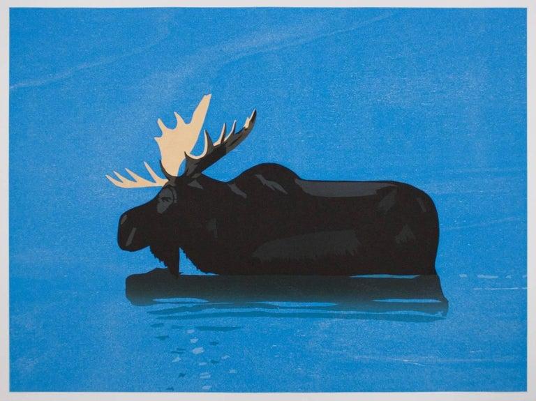 Alex Katz Animal Print - Moose