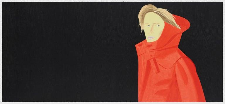 Alex Katz Portrait Print - Nicole Woodcut