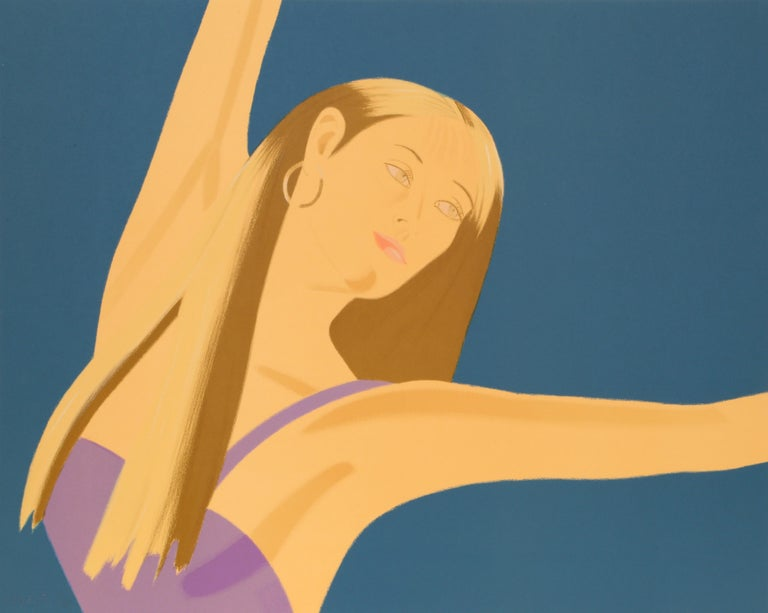 Night: William Dunas Dance, Framed Suite of Four Lithographs by Alex Katz For Sale 5