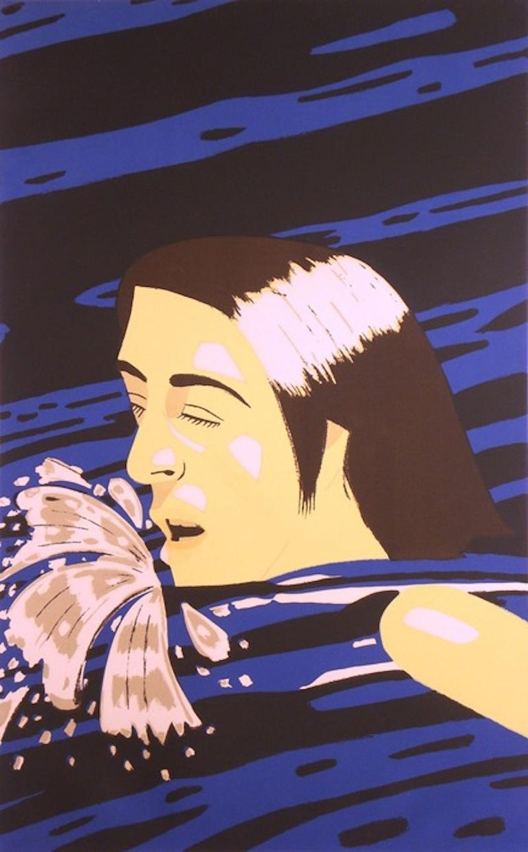 Olympic Swimmer - Print by Alex Katz