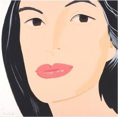 Portrait of Ada - Figurative, Pop art, Modern, Contemporary, Alex Kaz