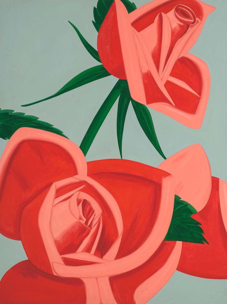 Alex Katz Figurative Print - Rose Bud