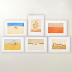 Small Cuts (portfolio) - Contemporary, Alex Katz, Aquatint, Limited Edition, Art