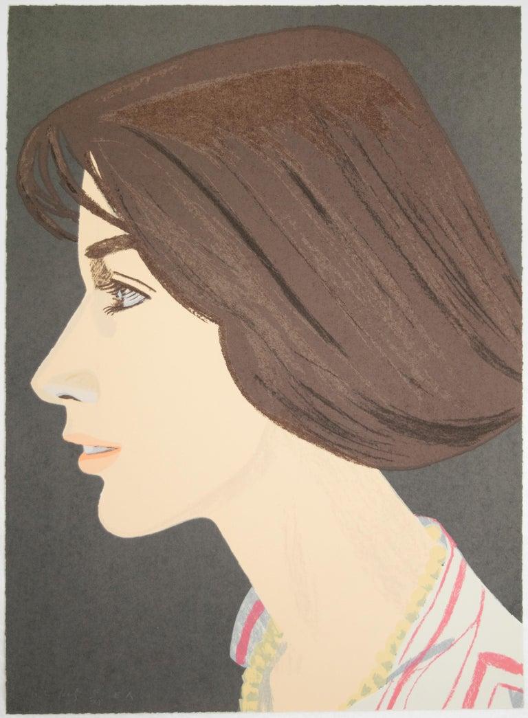 Alex Katz Portrait Print - Susan