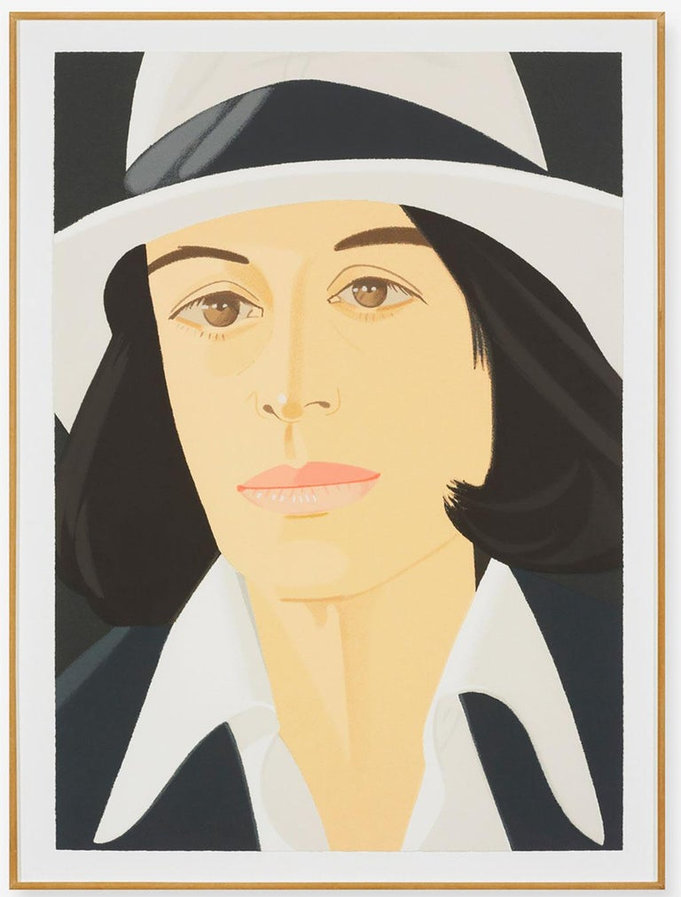 White Hat - Print by Alex Katz