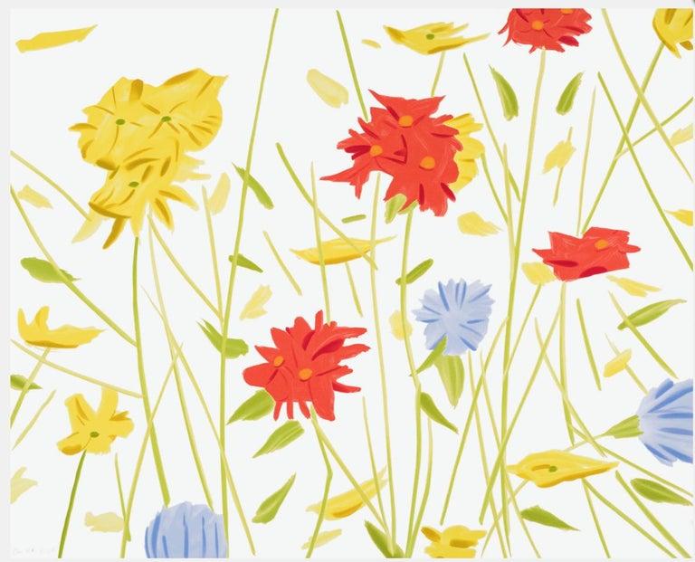 Alex Katz Still-Life Print - Wildflowers