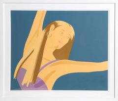 William Dumas Dance II, Lithograph by Alex Katz
