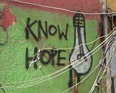 KNOW HOPE - CONTEMPORARY PHOTO - COLOUR PHOTO - GRAFFITI