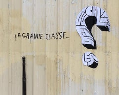 LA GRANDE CLASSE - CONTEMPORARY PHOTO - COLOUR PHOTO - GRAFFITI