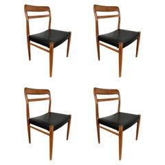 Alf Aarseth Teak Dining Chairs