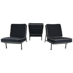 Alf Svensson '013' Set of 3 Easy Chairs for DUX Artifort, 1950s