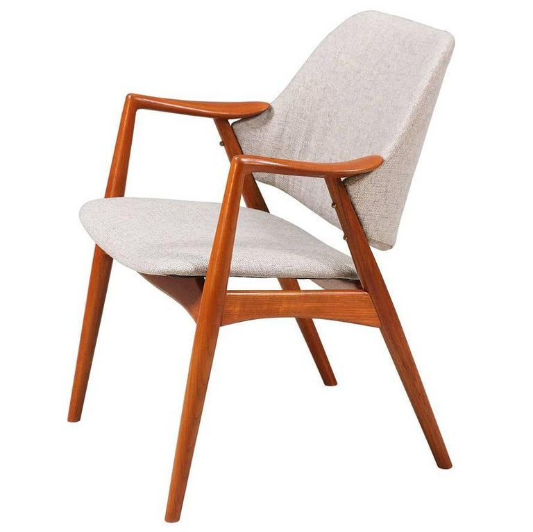 "Alf Svensson ""Kontur"" Teak Lounge Chair for DUX"