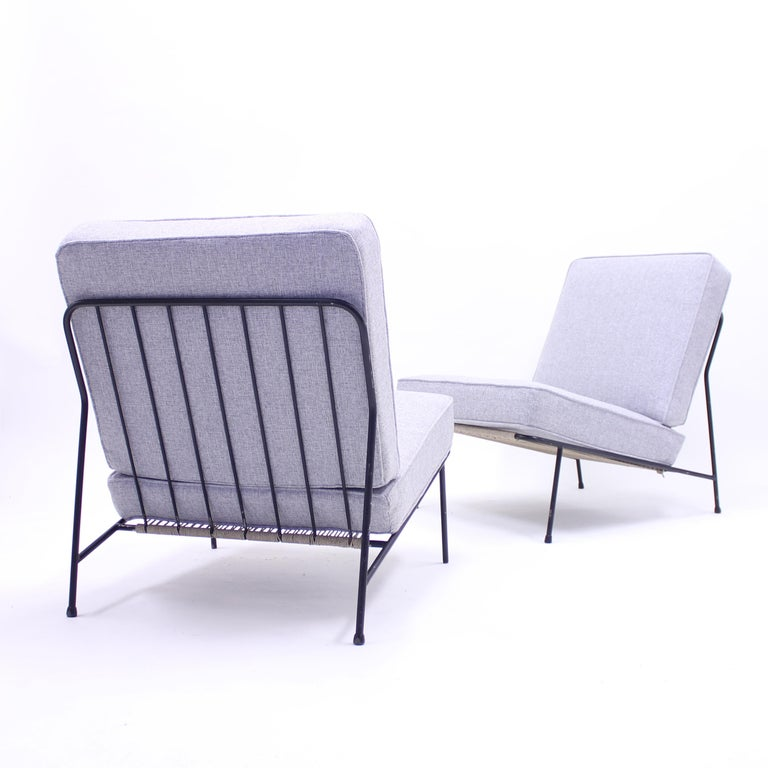 Alf Svensson, Pair of Domus Lounge Chairs, DUX, 1950s For Sale 3