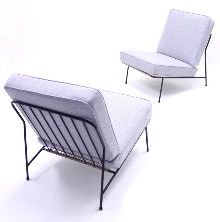 Alf Svensson, Pair of Domus Lounge Chairs, DUX, 1950s For Sale 4