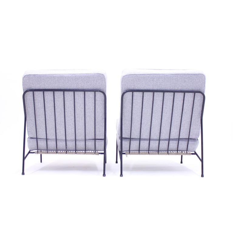 Alf Svensson, Pair of Domus Lounge Chairs, DUX, 1950s For Sale 5