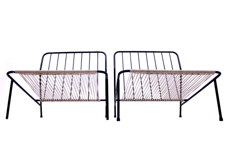 Alf Svensson, Pair of Domus Lounge Chairs, DUX, 1950s For Sale 8