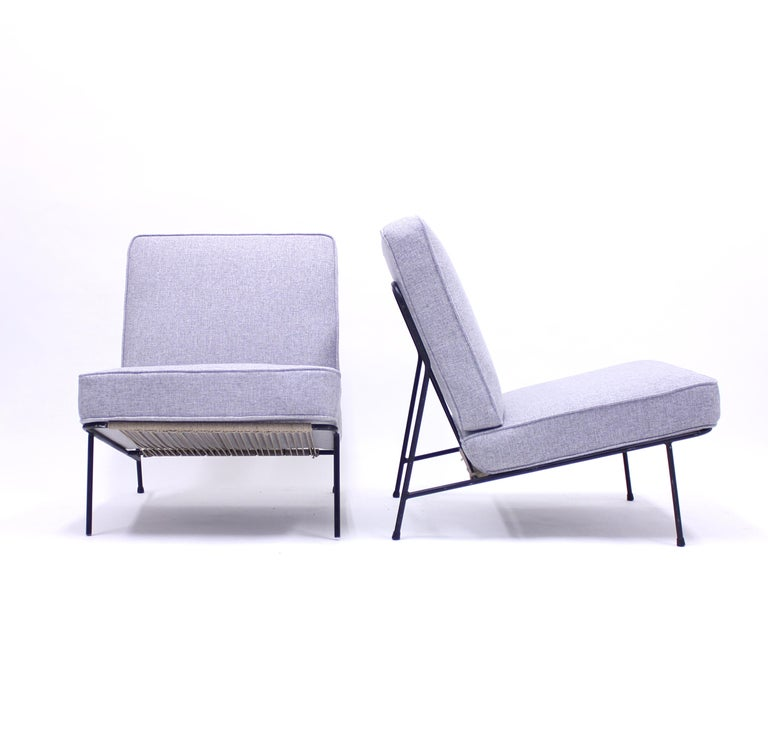 Alf Svensson, Pair of Domus Lounge Chairs, DUX, 1950s In Good Condition For Sale In Uppsala, SE
