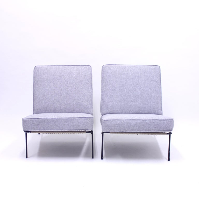 Alf Svensson, Pair of Domus Lounge Chairs, DUX, 1950s For Sale 1
