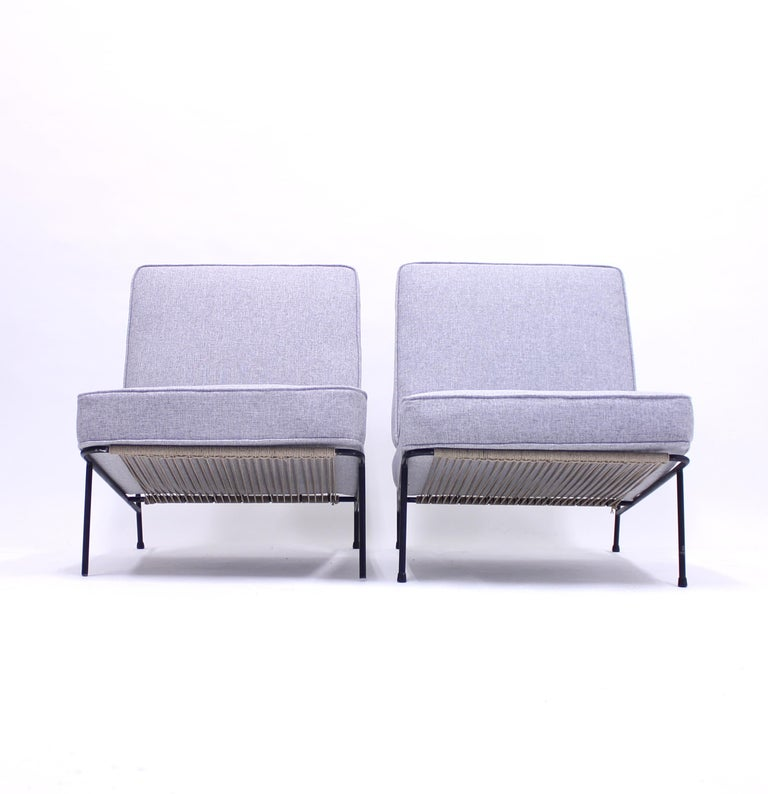 Alf Svensson, Pair of Domus Lounge Chairs, DUX, 1950s For Sale 2