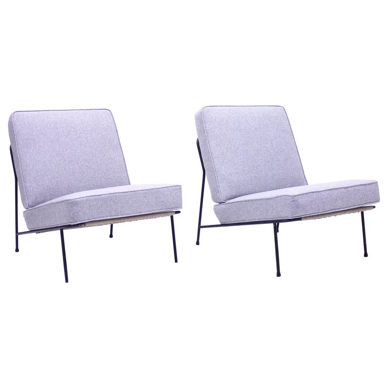 Alf Svensson, Pair of Domus Lounge Chairs, DUX, 1950s For Sale
