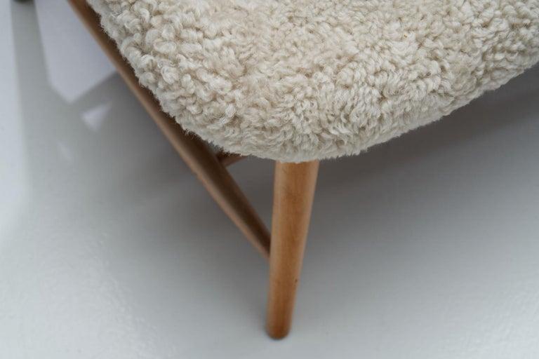 "Alf Svensson ""TeVe"" Chair for Studio Ljungs Industrier AB, Sweden, 1950s For Sale 12"