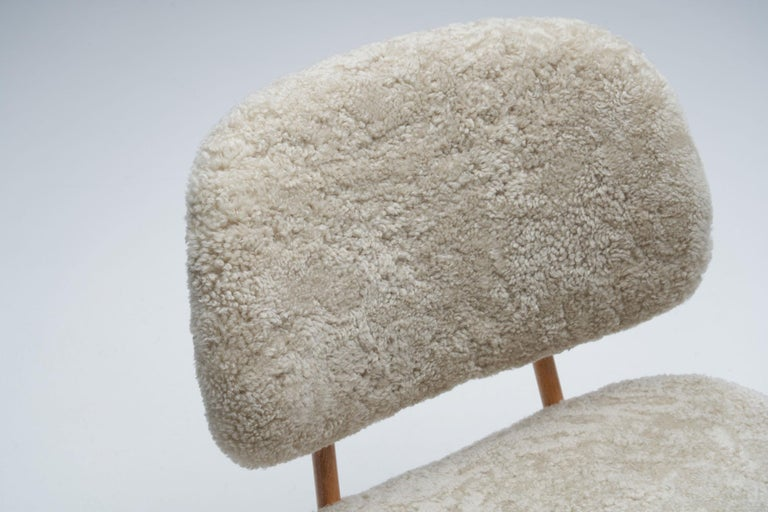 "Alf Svensson ""TeVe"" Chair for Studio Ljungs Industrier AB, Sweden, 1950s For Sale 1"