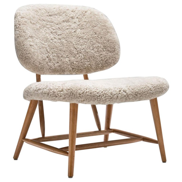 "Alf Svensson ""TeVe"" Chair for Studio Ljungs Industrier AB, Sweden, 1950s For Sale"