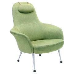Alf Svensson, Very Rare Lounge Chair Model Napoli for DUX, 1960s