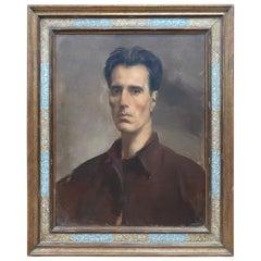 Alfons Verheyen, Autoportrait, circa 1930