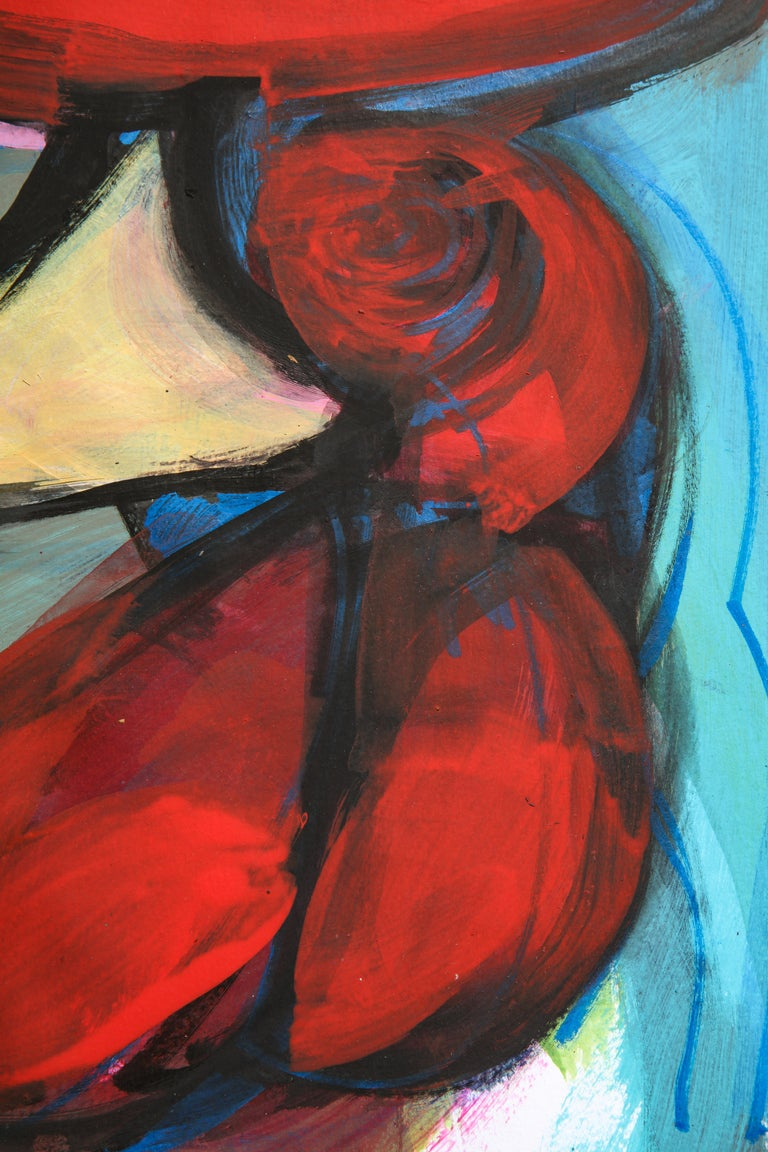 Contemporary painting 'Rooster II' (Rooster Collection) by Alfonso Muñoz For Sale 7