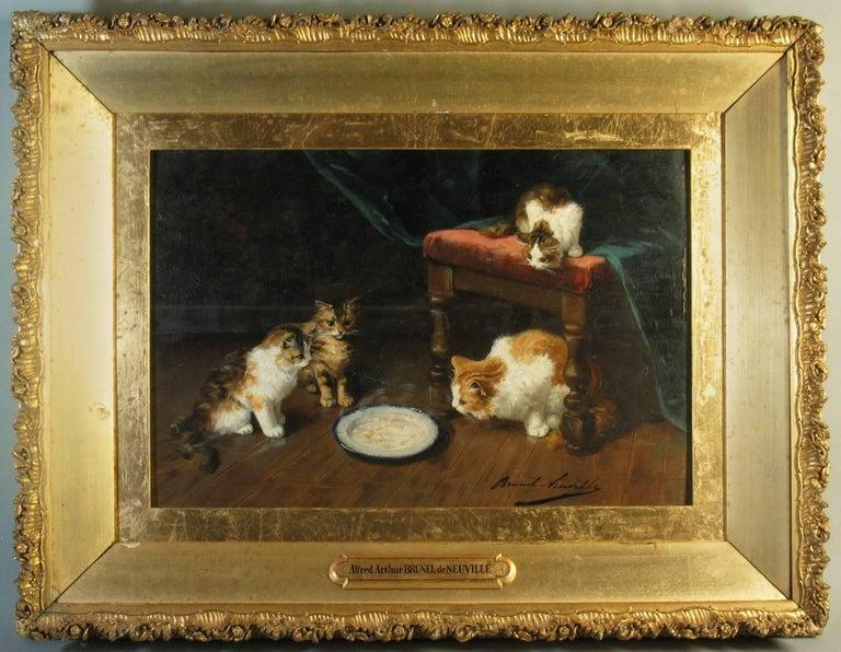 Expressionist Alfred Arthur Brunel de Neuville,