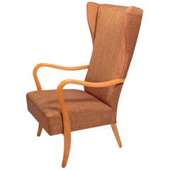 Alfred Christensen Easy Chair for Slagelse Møbelværk, 1940s
