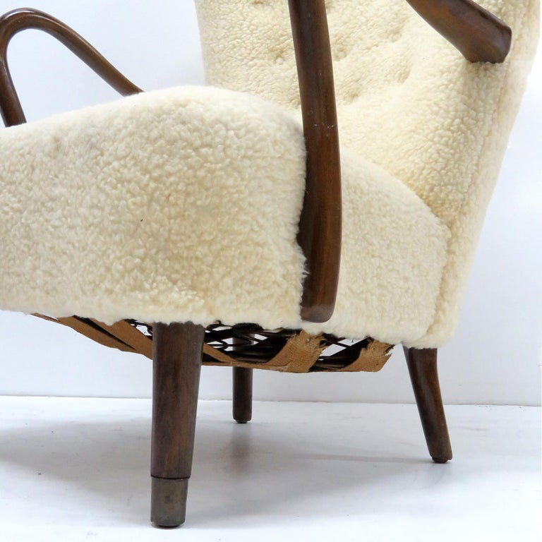 Alfred Christensen Lounge Chair, 1940 For Sale 2