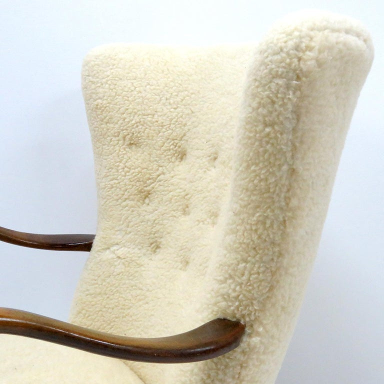 Alfred Christensen Lounge Chair, 1940 For Sale 3