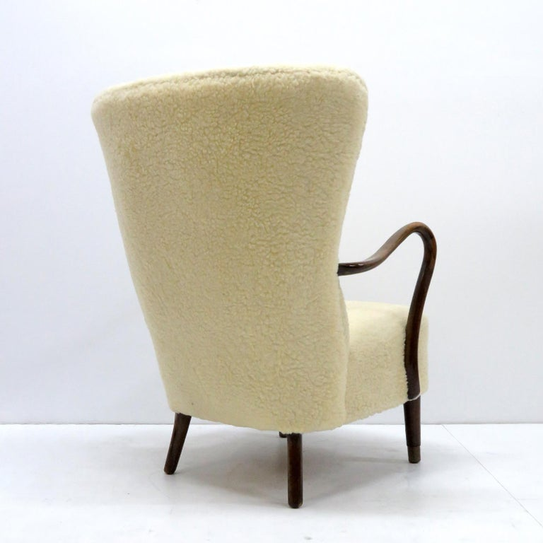 Mid-20th Century Alfred Christensen Lounge Chair, 1940 For Sale