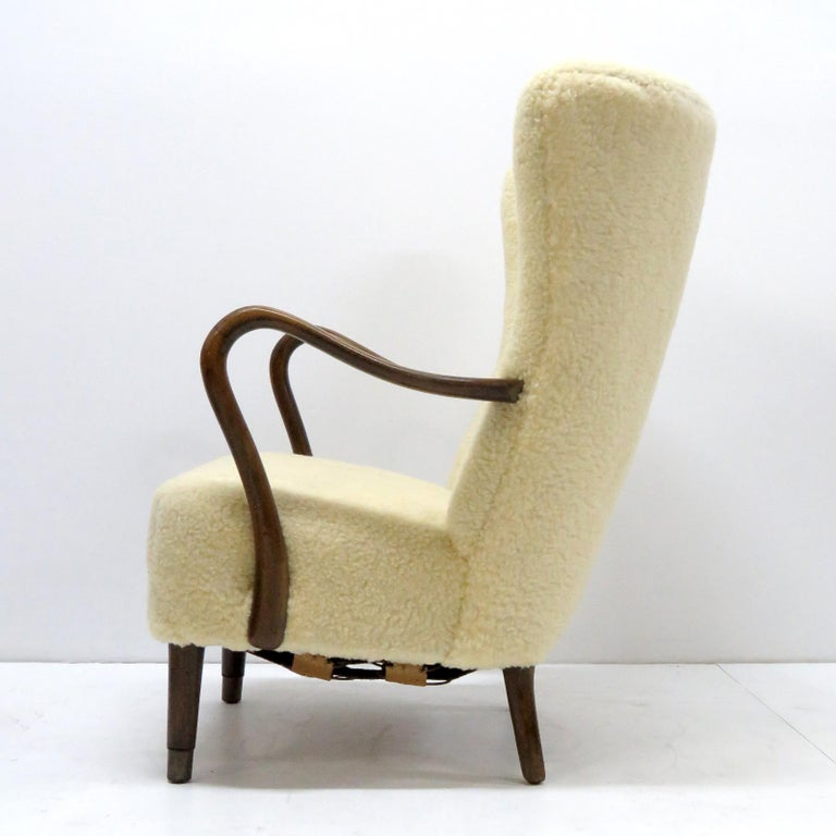 Alfred Christensen Lounge Chair, 1940 For Sale 1